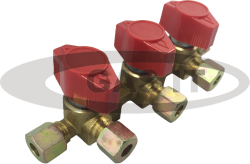 3 Way 8mm Tap Manifold