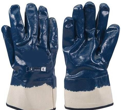 Jersey Lined Nitrile Safety Gloves