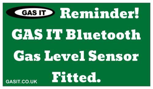 Standard Gas Bottle Reminder Magnet