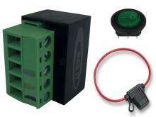 Ultra Low Current Driver ( ULCD 2.0 ) with 12v Rocker Switch