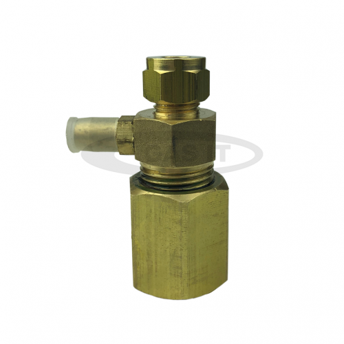 Regulator inlet to 8mm Copper Pipe converter