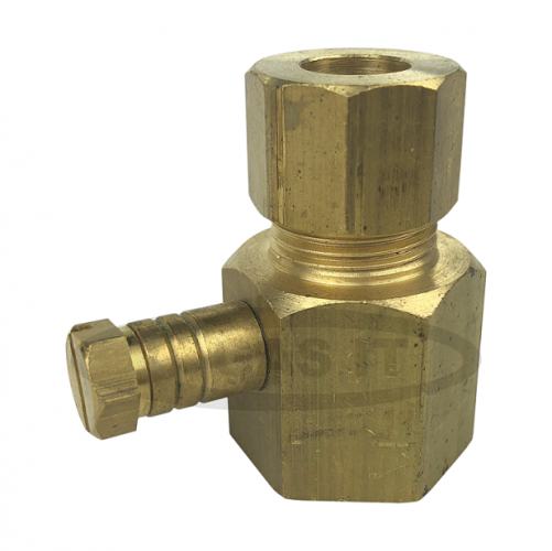 Regulator inlet to 10mm Copper Pipe converter