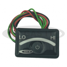 3 wire GAS IT 9 LED Contents Gauge with Integral Display On/Off Switch