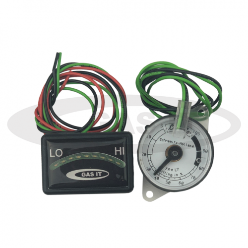 3 wire 9 LED Level indicator and 0-95 ohm Tank level sender