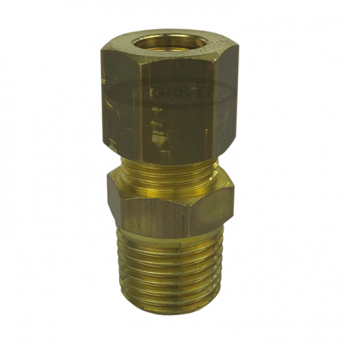 8mm x 1/4 gas out compression fitting