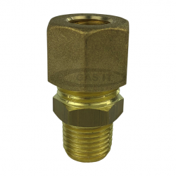 10mm x 1/4 gas out compression fitting