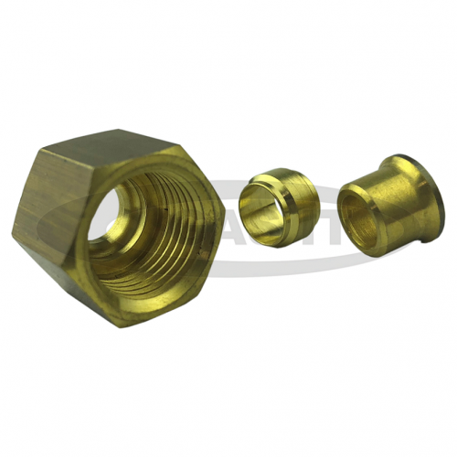 10mm x 8mm Brass Reducing Kit