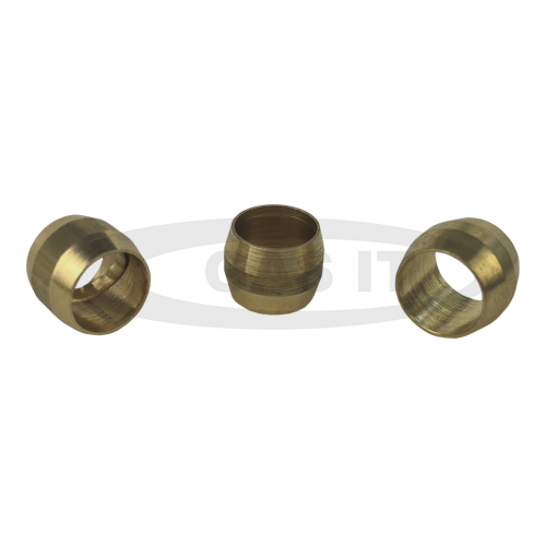 8mm Olive ( Barrel) for Copper x 10