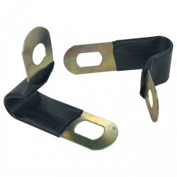 8mm Insulated P Clips For Copper Pipe