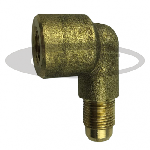 """90° elbow fitting G1/4"""" female x M12 male for use on bottle filter"""