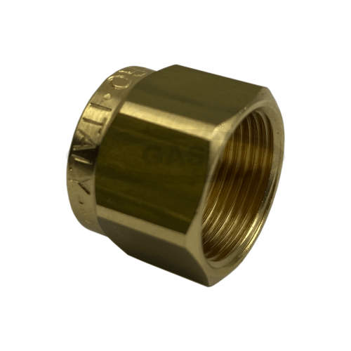8mm Nut for thermoplastic pipe