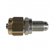 M12 x 8mm fitting for thermo plastic pipe