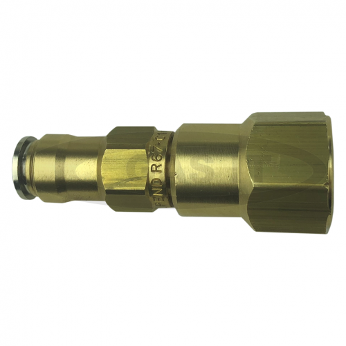 GAS IT 3/4UNF/SAE x 8mm Fastyfit coupling.