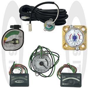 Gas Tank Level Indicators & Switches
