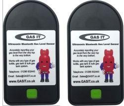 10 x Twin Gas Level Bluetooth Ultrasonic Gas Level Sensors.