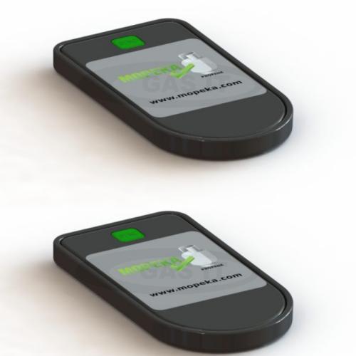 Twin Gas Level Bluetooth Ultrasonic Gas Level Sensors.