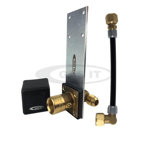 Lightweight Hose - Straight Bracket EASYFIT Fill System