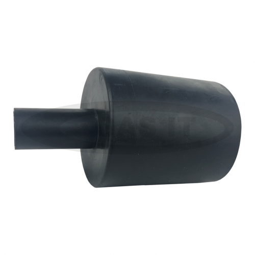 Straight Rubber Cover for 70mm Body Mount Fill Box Housing