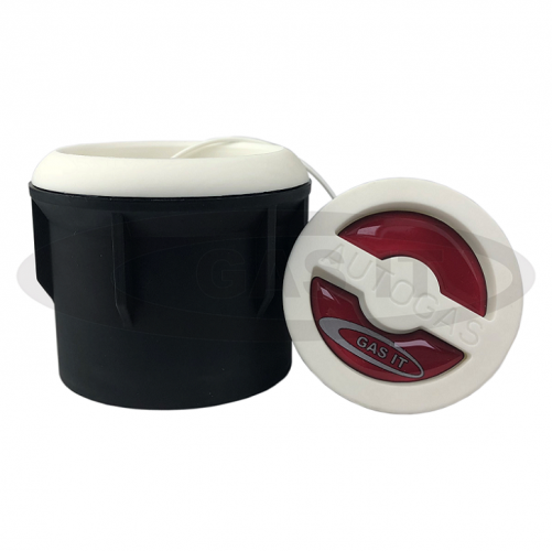 Body Mount Fill point box in white.