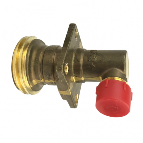 Angled Fixed ACME LPG Fill point