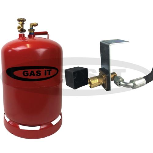 6kg Refillable Gas Bottle & EASYFIT© Fill System