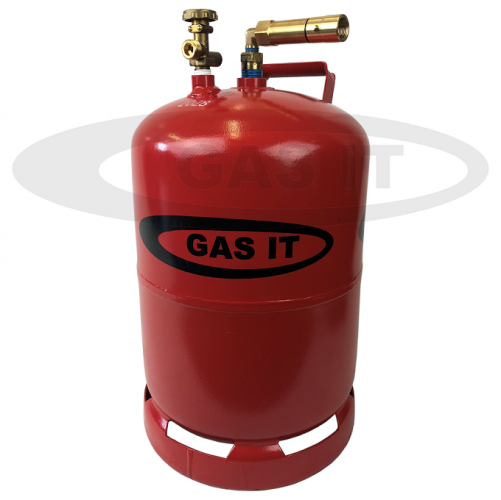 11kg EASYFILL HORIZON© Refillable Gas Bottle with Level / Contents Gauge