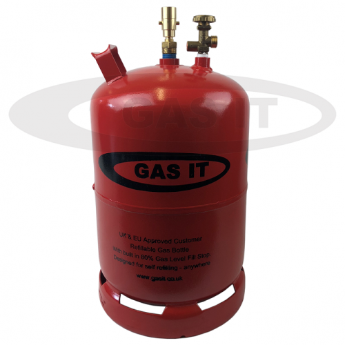 6kg EASYFILL SKY© Portable Refillable Gas Bottle with OPD & Level Indicator