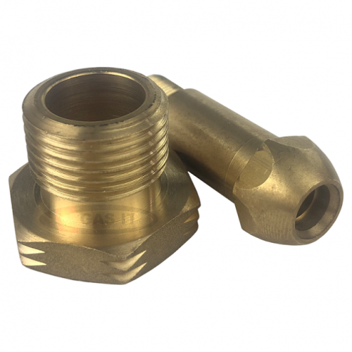 POL Brass Nut with UK POL Stem x 1/4''BSPM