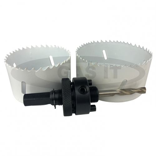 70 and 86mm Hole Cutter & Arbor KIT