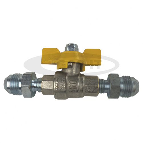 High Pressure LPG Shut off Ball Valve with 2 x 3/4 Male Fill hose type ends