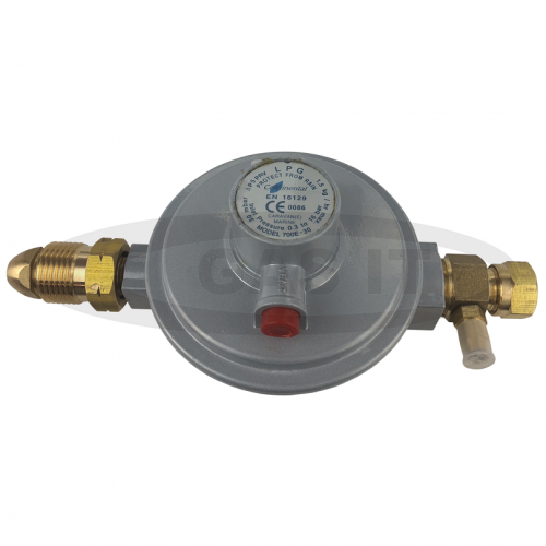 30mb Regulator With POL In And 8mm Compression Out