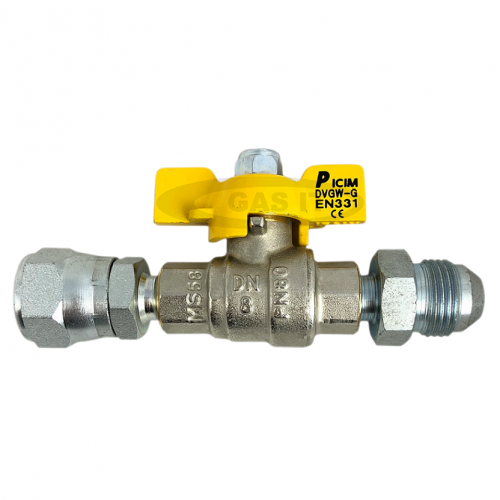 Male x Female 3/4 Ball valve isolation tap
