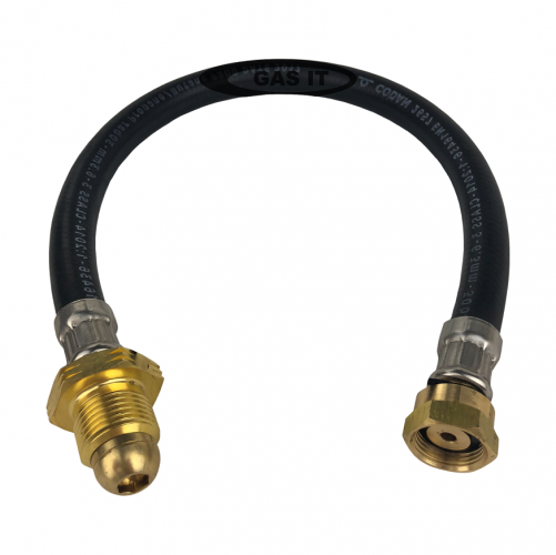 10 X 0.75mtr Propane LPG High Pressure Pigtail