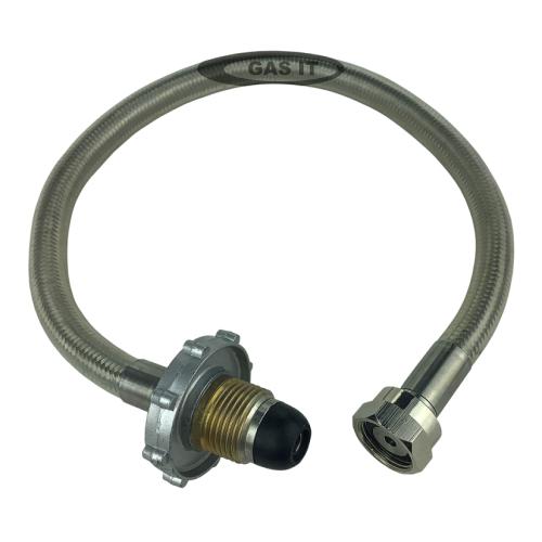 GAS IT 0.45mtr Stainless Steel Handwheel POL Soft Nose W20