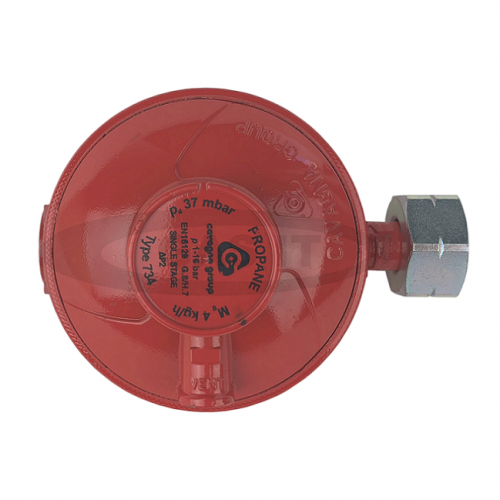 37mbar Low Pressure Propane Regulator with 21.8 LH Nut
