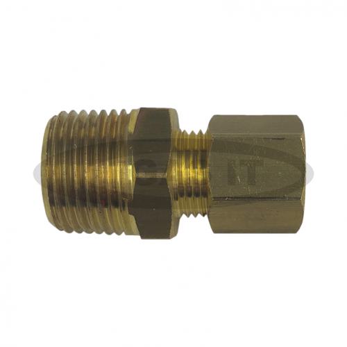3/8 TO 8MM COPPER COMPRESSION FITTING