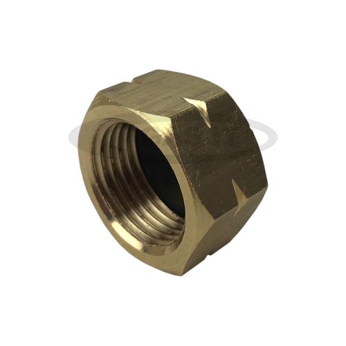 Service valve blanking cap