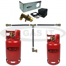 6kg & 11kg Twin Bottle Kit & EASYFIT Fill System