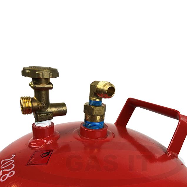 Bluetooth Enabled Gas Level Indicator Bottles