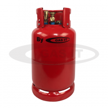 6kg GAS IT Plus EASYFILL SKY© Portable Refillable Gas Bottle with OPD & Mechanical Gas Level Indicator