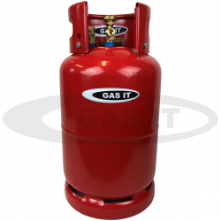 6kg  (12 ltr)  GAS IT Plus Refillable Bottle With Gas Level indicator