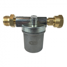 Bulkhead Regulator High Capacity Vapour Filter (W20 Male in x W20 Female Out)