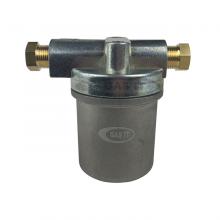 High Capacity Vapour Filter 8mm to 8mm Inline Vapour Filter