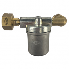 Bottle Tap High Capacity Left Handed Vapour Filter - 21.8LH GAS IT Bottle Fitting