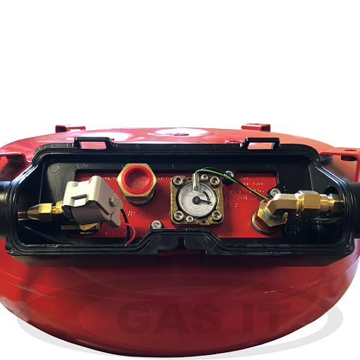 Electronically Operated GAS IT Tank.