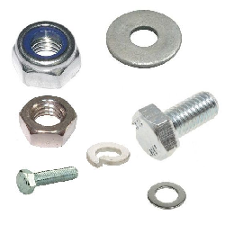 Nuts, Bolts & Fixing Hardware.