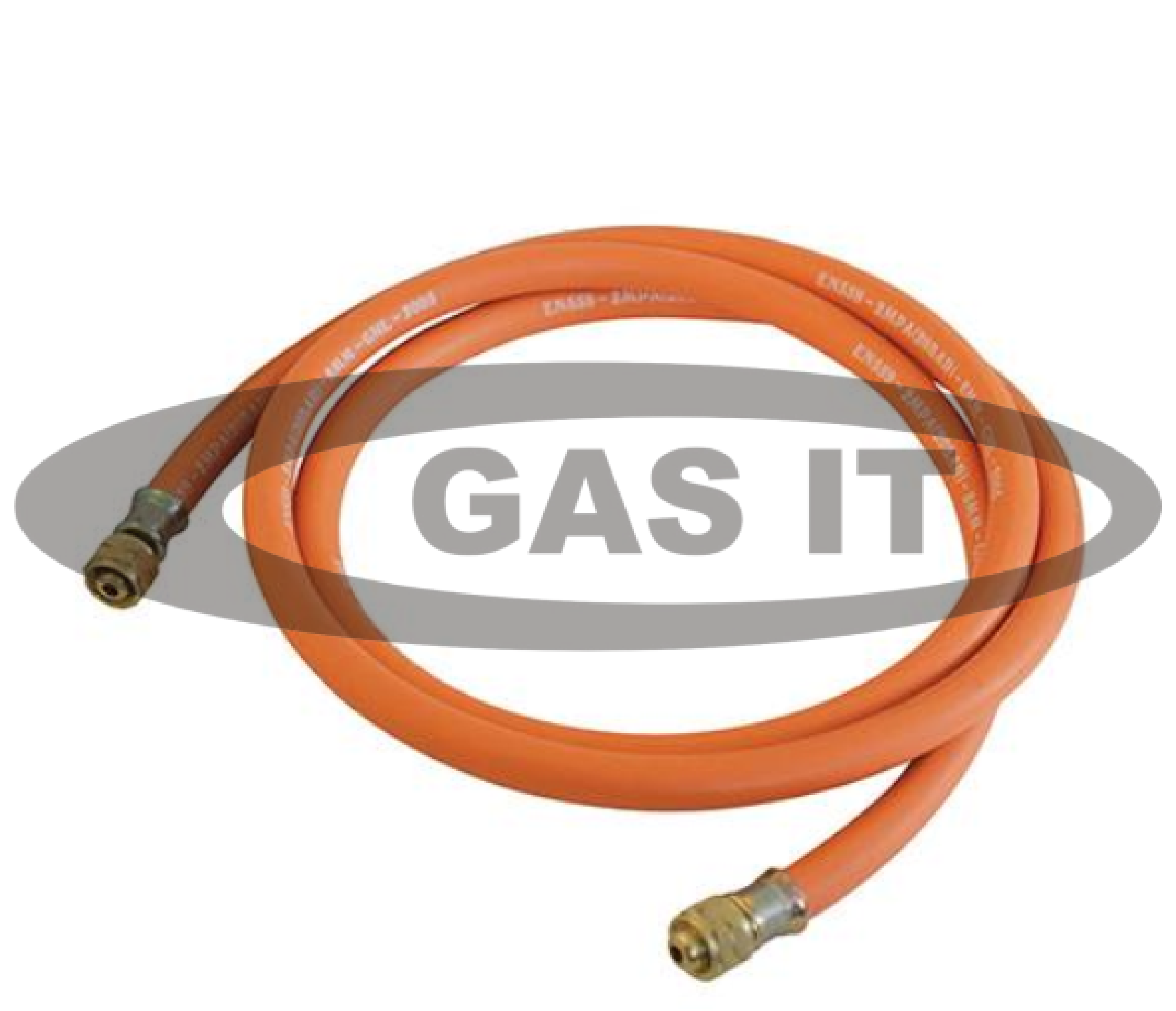 Mtrs mm orange low pressure lpg hose with brass