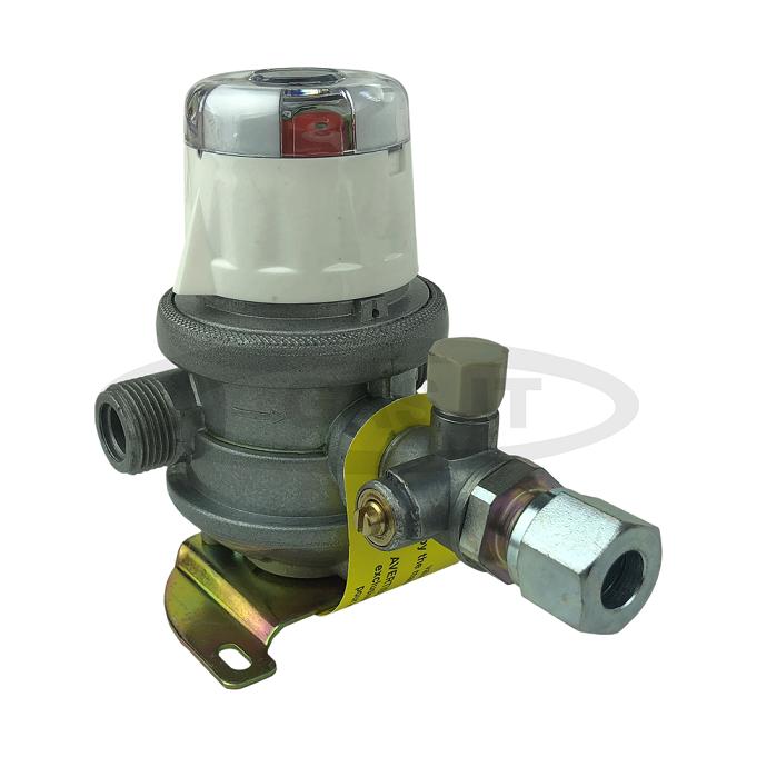 Caravan Gas Regulator Automatic Changeover Regulator 8mm Gas Pipe