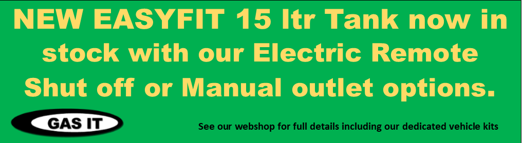 Click this image to get information on our EASYFIT 15 ltr gas tank
